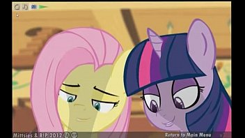 Three Curious Ponies - Mittsies