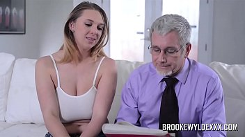 Penelope brooks escort - Beautiful young girl with big boobs fucked by a old man for money