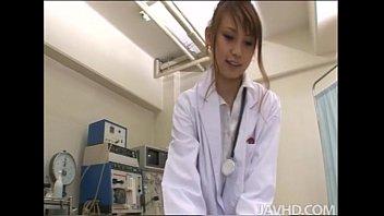 Nurse gives patient blow job Horny nurse ebihara arisa gives her male patient an unusual sexual exam