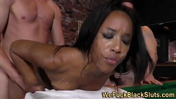 Cum ebony wmv Ebony ho cum banged bar