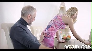 Old women young girl free porn - Perverted young girl enjoys old boner