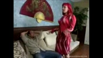 Stepmothers seducing and fucking stepsons Dirty redhead stepmom seduces stepson to make him leave