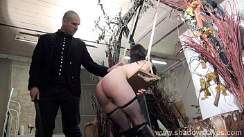 Leather Belt Spanking And Corporal Punishment Of Humiliated Brunette Spankee Fae