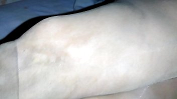 My wife sleeping in nude dirty natural pantyhose