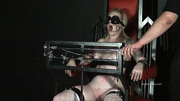 Tower of pain torments of blonde lifestyle slavegirl Angel in hardcore painslut