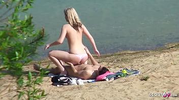Echtes Junges Paar Heimlich Beim Ficken Am Strand Gefilmt Deutsch