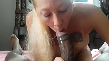 My friend giving me a blowjob
