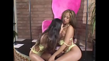 Horny lesbians August, Sindee Coxx and Alexis Love gets pussy stuffed with vibrator