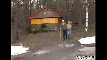 Horny old and young sex with hot babe taking the weenie hard hardcore hot-blow-jobs ametur-porn