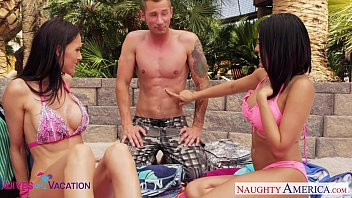 Fort dick vacation rentals - Wives jennifer dark and luna star share cock in vacation