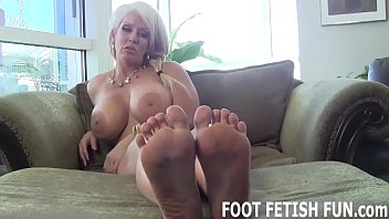 It gets me so hot when you play with my feet