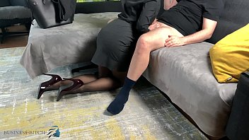 Sexual harassment business ethics Personal assistant handjob bouncing tits, business bitch