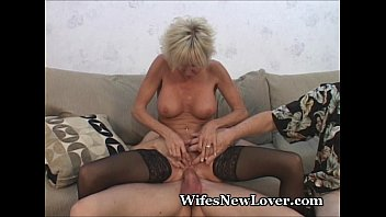 Mature mmf pics Older milf pleasured by young lover