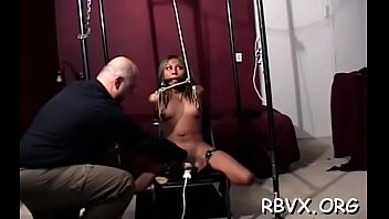 Boys bondage porn Real bondage act with a boy strapping this bitch tight