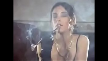 animal hot pron | colight a classic smoking fetish girl with a holder thumbnail