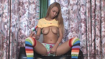 Pacinos Adventures - Tania Spice playing with her latina pussy