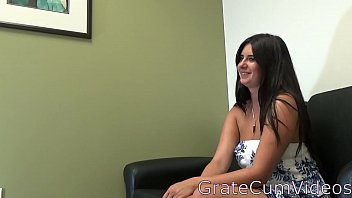 Sexy Jenny Does First Casting and Plays With Toy,GrateCumVideos