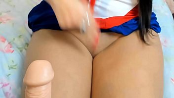 Cosplay Sailor moon Sailor Mars JOI Jerk Off Instrution safada controlando tua Punheta PUNHETA CONTROLADA