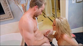 Sexy Devon Takes A Hot Bath And Fucks Her Lover