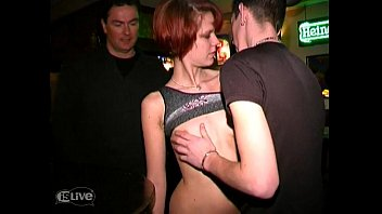 Find a redhead to fuck Redhead fucked in a bar