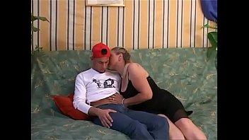 A boy seduced by her dirty mom