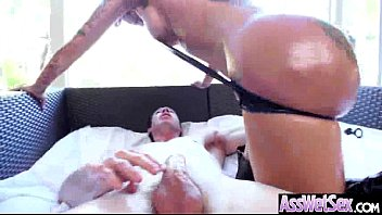 (bella bellz) Wet Oiled Big Booty Girl Love Anal Intercorse clip-08