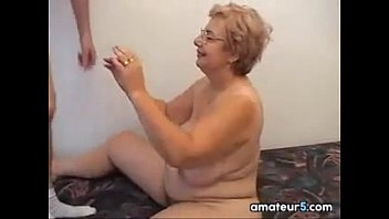 Glasses Wearing Grandma Wants To Fuck