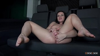Hot Czech Babe With Amazingly Shaped Ass Rocked Her Pussy In Our Sex Van