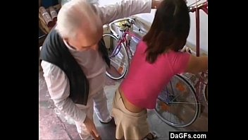 Old Pervert Horny For Some Young Teen Pussy