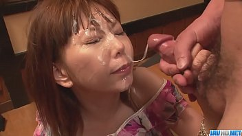 Asian facial bukkake Minami kitagawaґs foursome ends in an asian cum facial - more at javhd.net