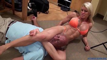 Naked mixed fighting Ginger martin coach crush preview