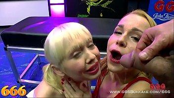 Cherry English and Rebecca Black extreme pissing gangbang - 666Bukkake [소변누기 오줌누기 pissing]