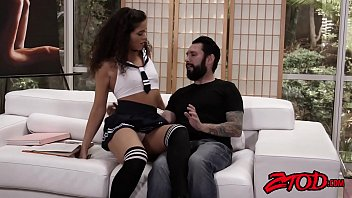Young Victoria Voxxx plowed vigorously by tutor after lesson