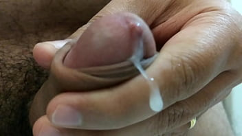 Just a guy jerking off his beautiful cock