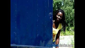 Girl screaming for pee pee - Builders piss in black girls mouth