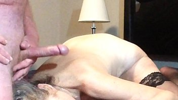 Mutual male male masturbation Mature mom gets a big facial when husband strokes his cock to orgasm