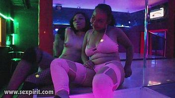 sexpirit.com two sluts dancing at the stripper pole