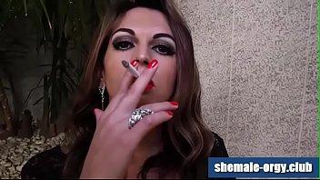 Shemale club smoking - Shemale samantha puglies fetish smoking shemale-orgy.club