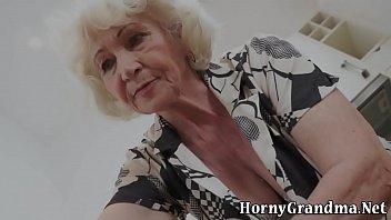 Naked grannys - Mature grannys mouth cum