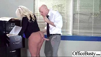 Hard Sex In Office With Slut Big Juggs Girl (julie cash) clip-23