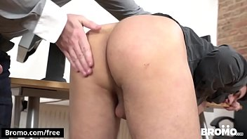 Raw Overtime, Scene 1 featuring Boris Lang and Rob Blond and Rudy Valentino - BROMO