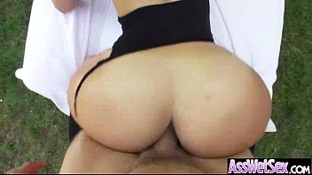 (kelsi monroe) Sexy Girl With Big Oiled Ass Take It Deep In Her Behind mov-15