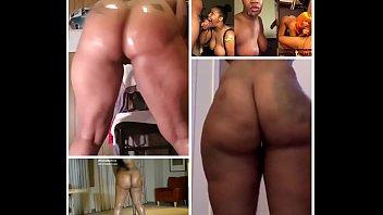 Naked Twerk Cumshot Collage