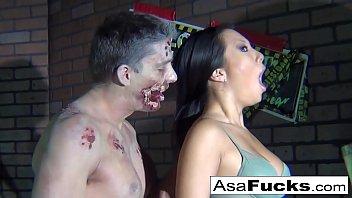 Zombie loan hentai Asa akiras zombie anal creampie