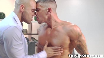 Office Rimjob And Bj With Lucio Saints
