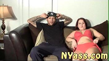 NYass.com Macana Man makes Aiyana gag on 12 inches unedited version part 1
