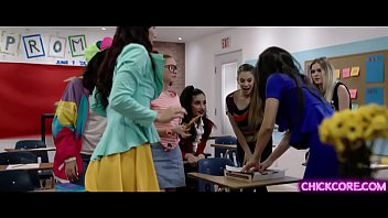 Watch These Flirty College Babes Aidra Fox Georgia Jones And Emily Willis Do A Hot Lesbian Orgy With Sexy Prof Angela White Inside Their Classroom.