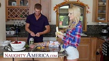 Naughty America - Older Guys Make Kenna James Hot And Horny