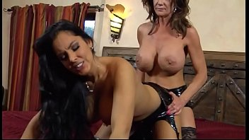 Gay strap-on movies Deauxma and mercedes have a knock down drag out catfight