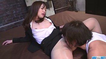 Dazzling scenes of harsh sex with office babe Shiona Suzumori - More at 69avs com